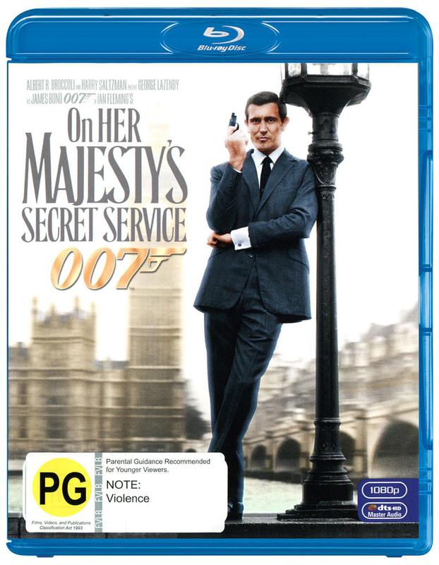 On Her Majesty's Secret Service (2012 Version) on Blu-ray