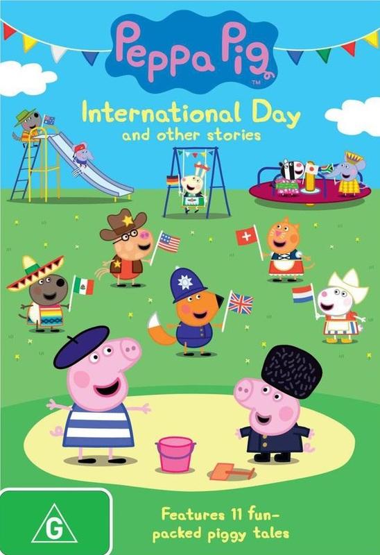 Peppa Pig: International Day on DVD