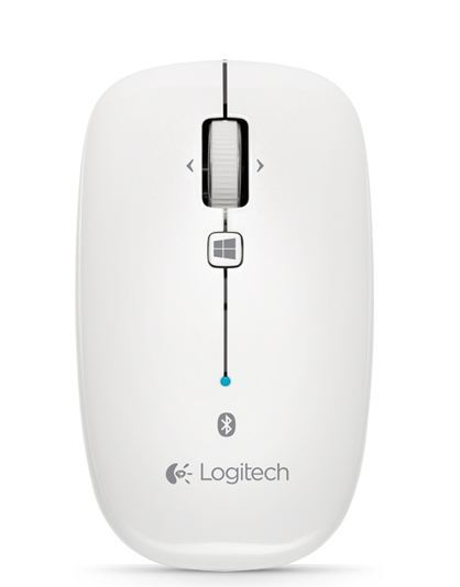 Logitech M557 Bluetooth Mouse (White)