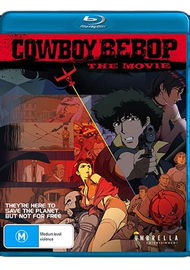 Cowboy Bebop: The Movie on Blu-ray