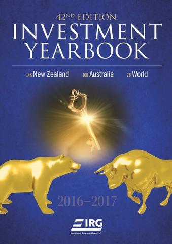 New Zealand Investment Yearbook 2016 - 2017 image