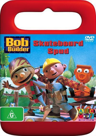Bob the Builder - Skateboard Spud on DVD image