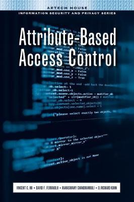 Attribute-Based Access Control by Vincent C. Hu image