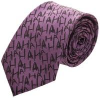 Batman Joker Micro Print Neck Tie
