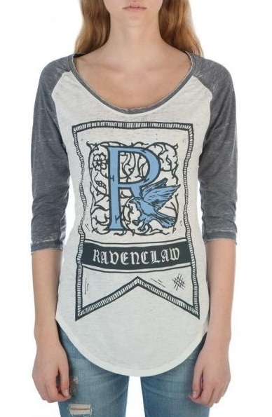 Harry Potter: Ravenclaw - 3/4 Sleeve Raglan (XL)