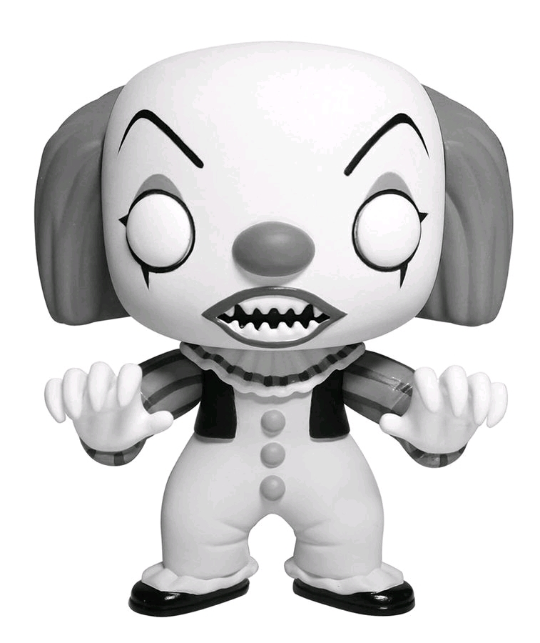 IT - Pennywise (Black & White) Pop! Vinyl Figure image
