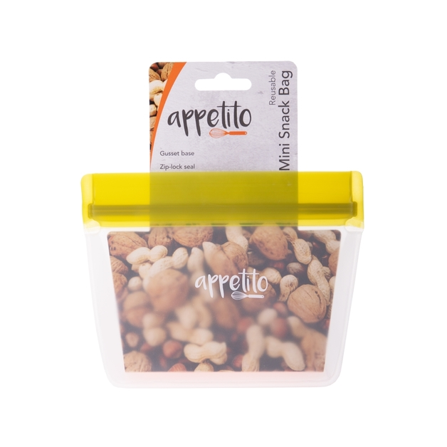 Appetito: Food Storage Bag 1 Cup (11x10.5cm)