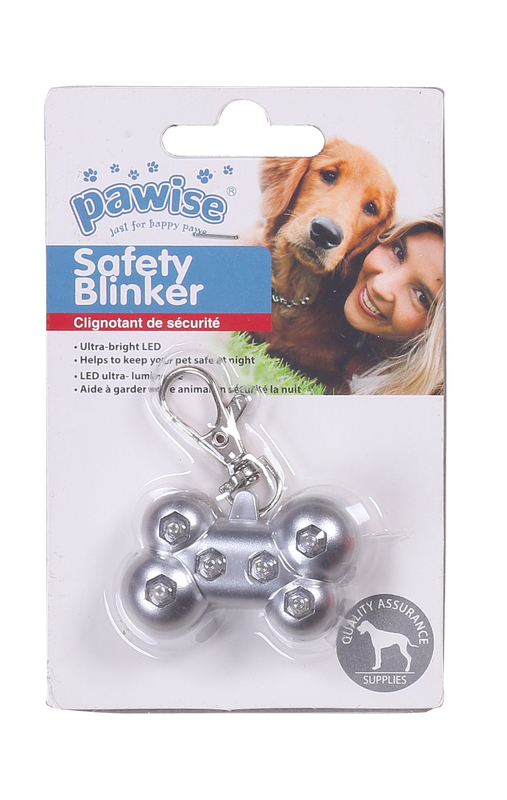 Pawise: Safety Blinker - 5x3 cm