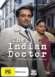 The Indian Doctor - The Complete Second Series on DVD