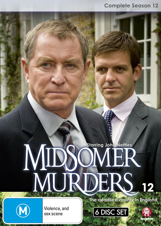 Midsomer Murders - Complete Season 12 (Single Case) on DVD image