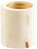 Natural Log Tealight Holder / Mini Vase