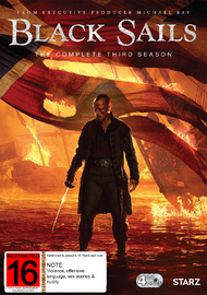 Black Sails - The Complete Third Season on DVD
