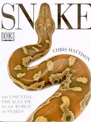 Snake Chris Mattison Book Buy Now At Mighty Ape Nz