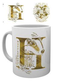 Harry Potter Mug Hufflepuff Monogram