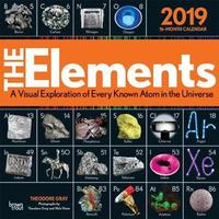 Elements, the 2019 Square Wall Calendar by Inc Browntrout Publishers image