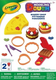Crayola: Dough Activity Set - Bakery Shop