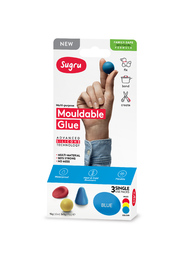 Sugru: Mouldable Glue - Family-Safe Formula - Red, Yellow & Blue (3-pack)