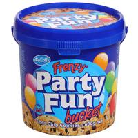 McColls: Choc Chip Frenzy Party Fun Bucket (600g)