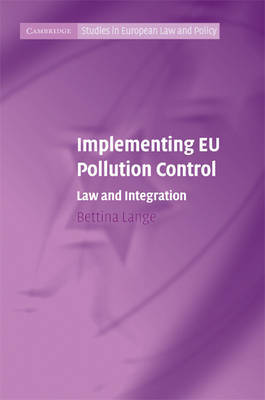 Implementing EU Pollution Control by Bettina Lange image