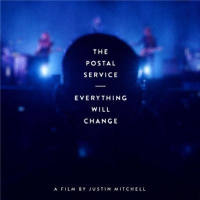 The Postal Service Everything Will Change on DVD, Blu-ray