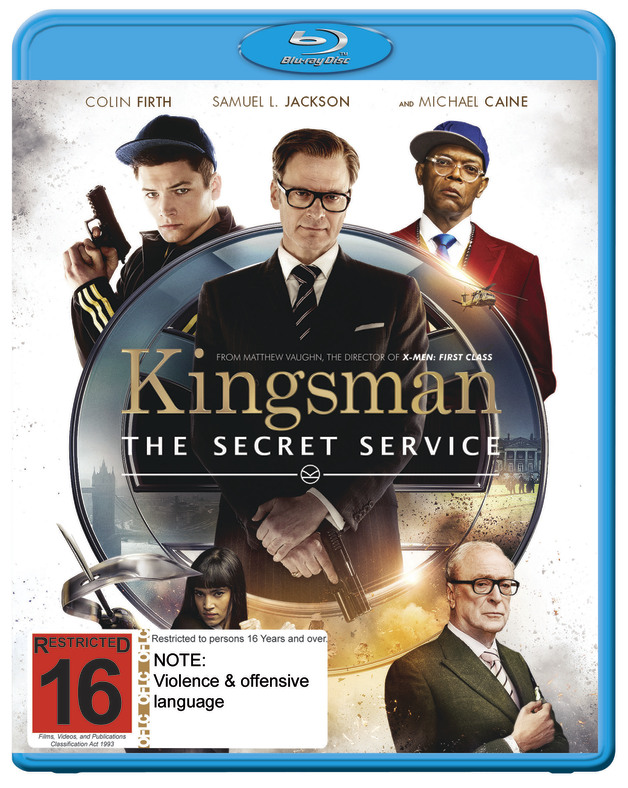 Kingsman: The Secret Service on Blu-ray