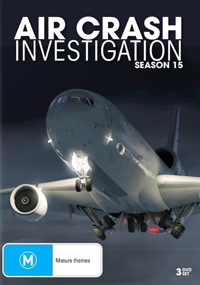 Air Crash Investigation - Season 15 on DVD image