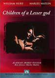 Children of A Lesser God on DVD