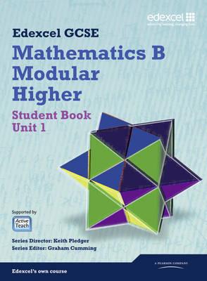 GCSE Maths Edexcel 2010: Spec B Higher Unit 1 Student Book by Gareth Cole image