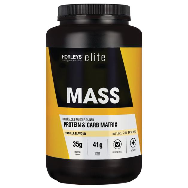 Horleys MASS Protein Powder - Vanilla (1.3kg)