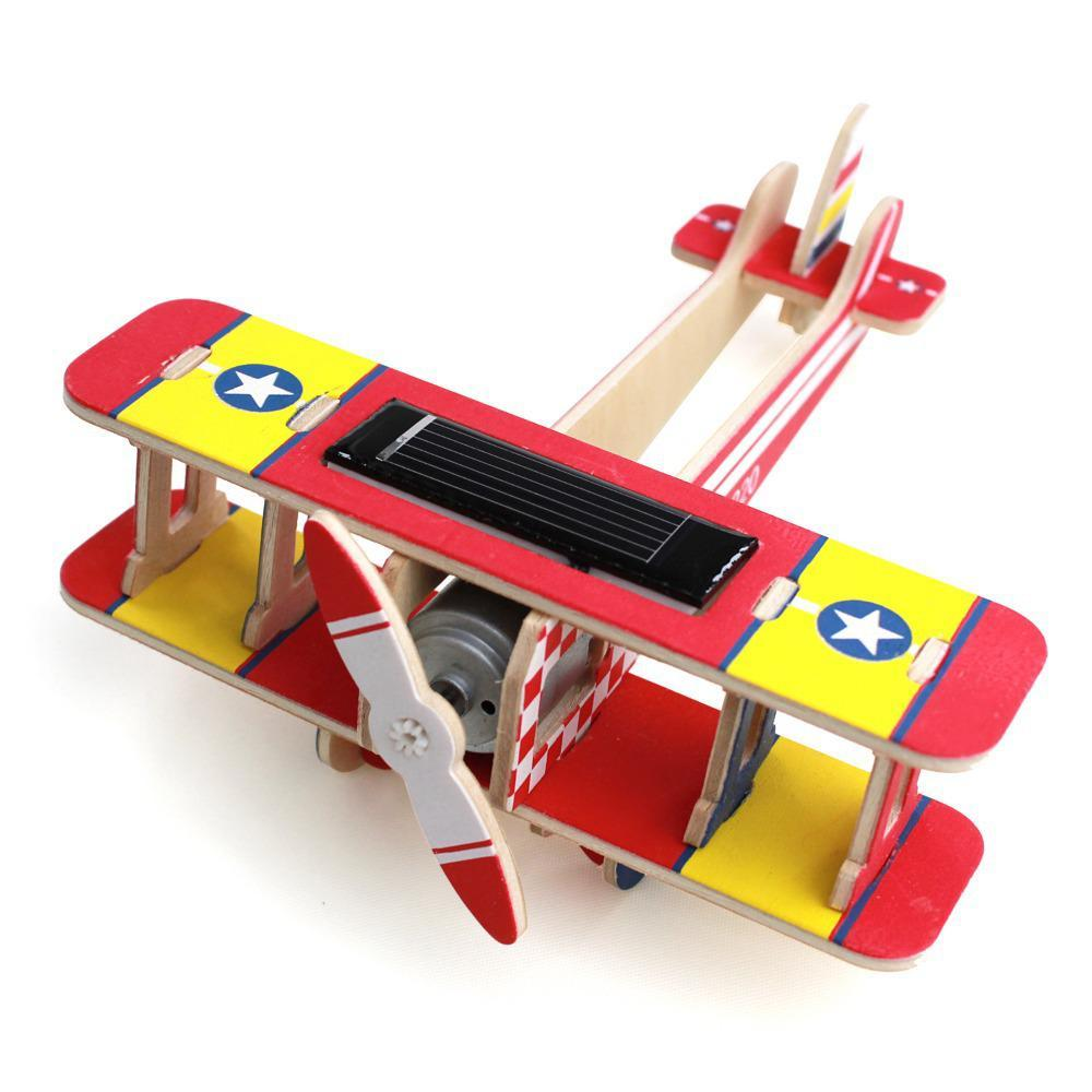 Robotime: Aircraft Biplane image