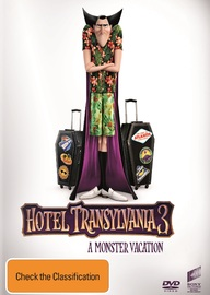 Hotel Transylvania 3: A Monster Vacation on DVD