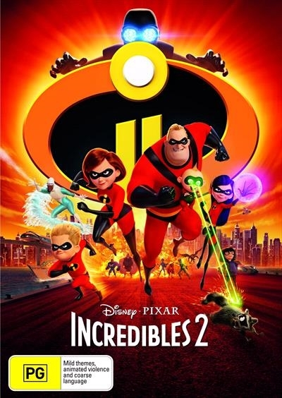 Incredibles 2 on DVD