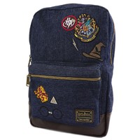 Loungefly: Harry Potter - Hogwarts Logo Blue Backpack image