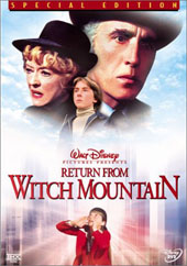 Return from Witch Mountain on DVD