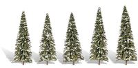 Woodland Scenics Snow Dusted Trees (5 pack)