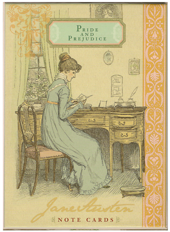 Jane Austen Note Cards: Pride and Prejudice (Box of 16 Cards) by Potter Style