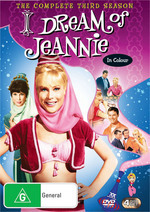 I Dream Of Jeannie - Complete Season 3 (4 Disc Set) on DVD