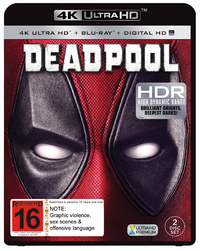 Deadpool (4K UHD + Blu-ray) DVD