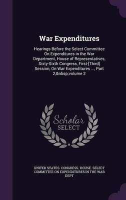 War Expenditures image