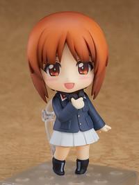 Girls Und Panzer: Nendoroid Miho Nishizumi (Panzer Jacket & Peacoat Ver.) - Articulated Figure