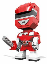 Mega Construx: Kubros Figure - Red Ranger
