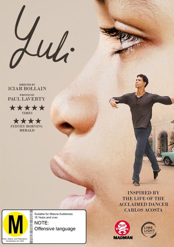 Yuli on DVD