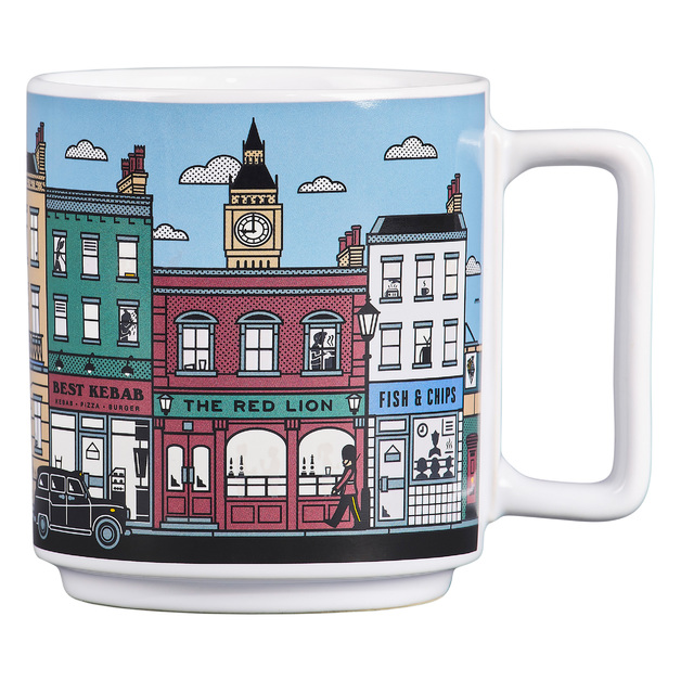 Heat Sensitive London Mug