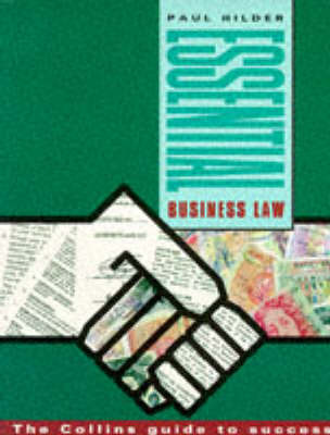 Essential Business Law by Paul Hilder image