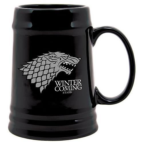Game of Thrones Stark Sigil Ceramic Stein image