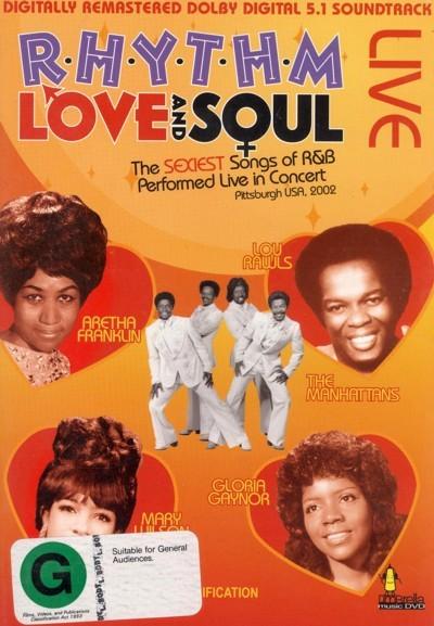 Rhythm, Love & Soul - Vol. 1 on DVD
