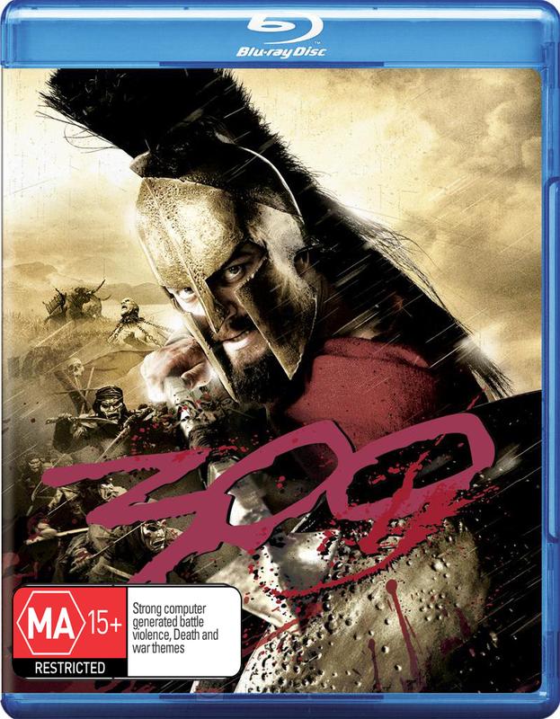 300 on Blu-ray