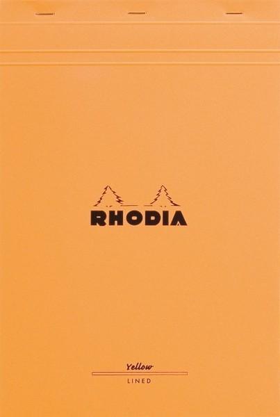 Bloc Rhodia A4+ Legal Pad Yellow Paper