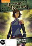Legend Of Korra: Book Four DVD