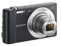 Sony: Cyber-Shot W810 Digital Camera - Black
